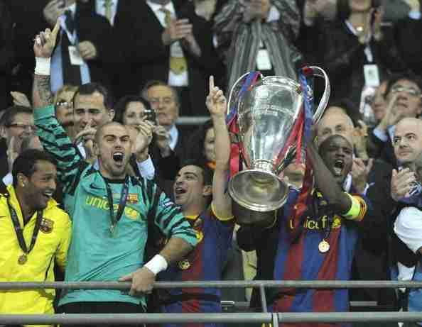 Abidal levanta Champions League
