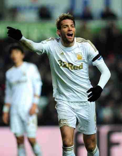 Michu gol Swansea