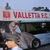 Celebración título de fútbol en Malta