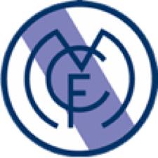 Antiguo escudo del Madrid sin corona