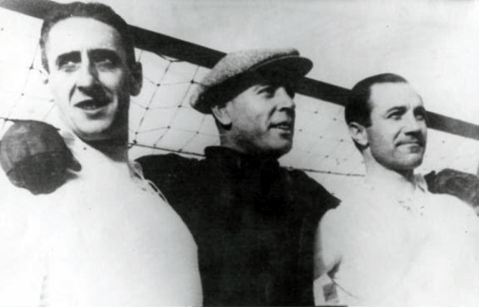 Ciriaco Zamora y Quinconces con el Real Madrid