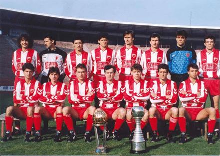 Estrella Roja con Copa Intercontinental Colo-Colo 1991