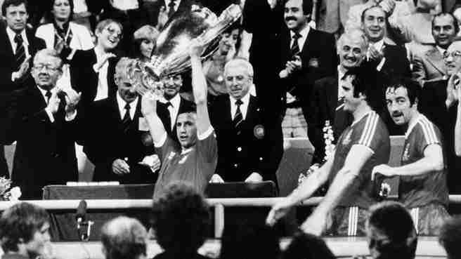 Nottingham Forest levanta copa de europea 1979