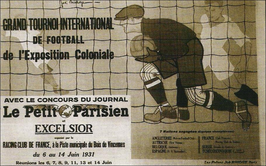 Cartel Torneo Internacional de Paris 1931