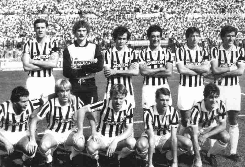 Once Juventus temporada 83/84