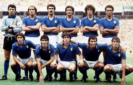 Once Italia final Mundial '82