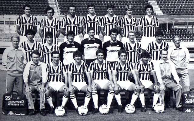 Plantilla Juventus temporada 86/87