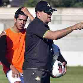 Pepe Mel entrenamiento del Betis