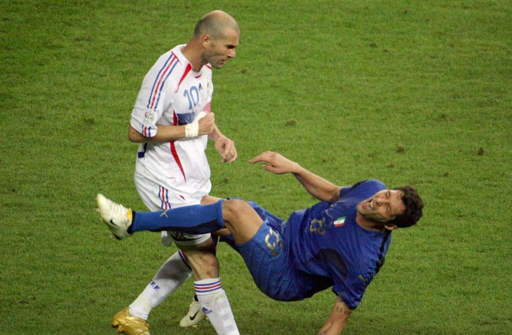 Cabezazo Zidane a Materazzi