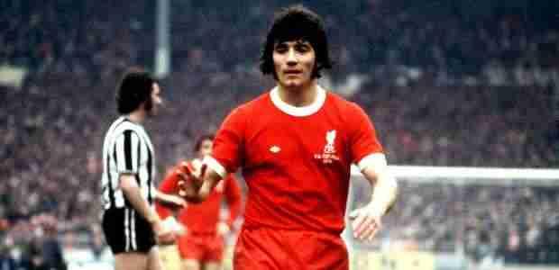 Kevin Keegan con la camiseta del Liverpool F.C.