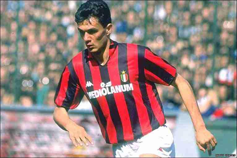 Paolo Maldini debut 1985