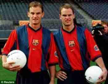 Franck y Ronald de Boer