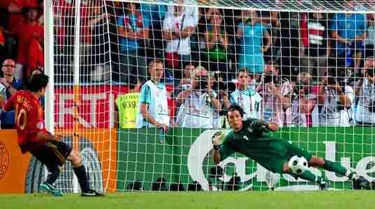 Cesc marca penalti cuartos Eurocopa 2008