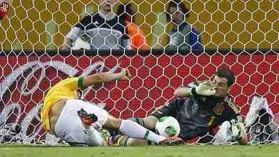 Gol Fred Brasil España