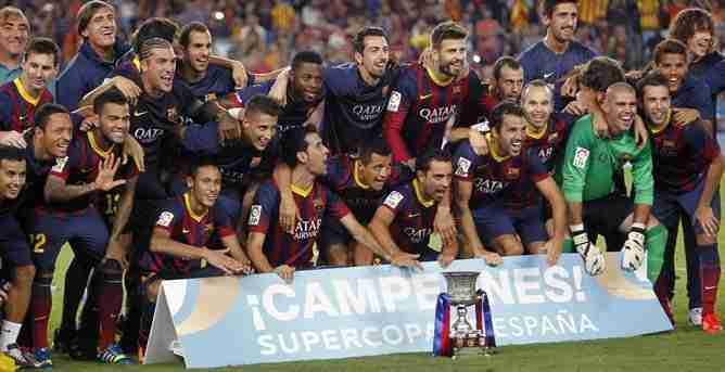 Barcelona Campeón Supercopa de España