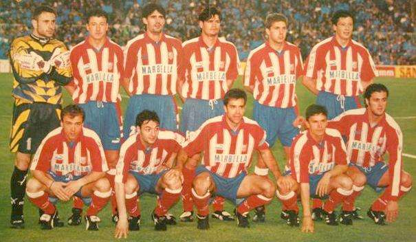 Once Atlético de Madrid Segunda División 2000
