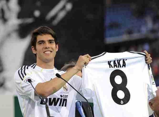 Kaká presentación Madrid