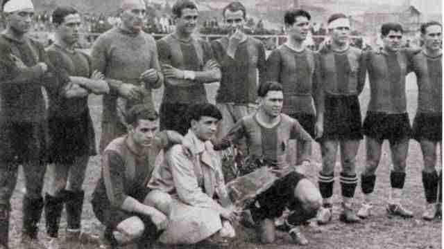 F.C.Barcelona primer campeón de Liga