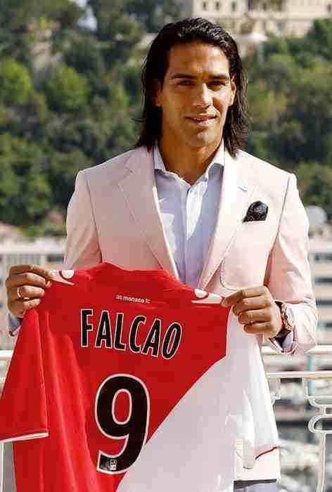 Radamel Falcao presentación Mónaco