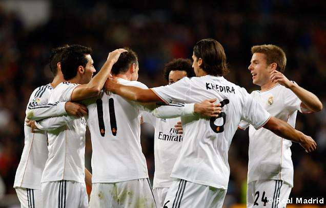 Real Madrid celebra gol