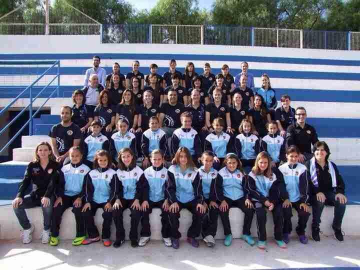 Primer equipo y escuela del Lorca Féminas A.D