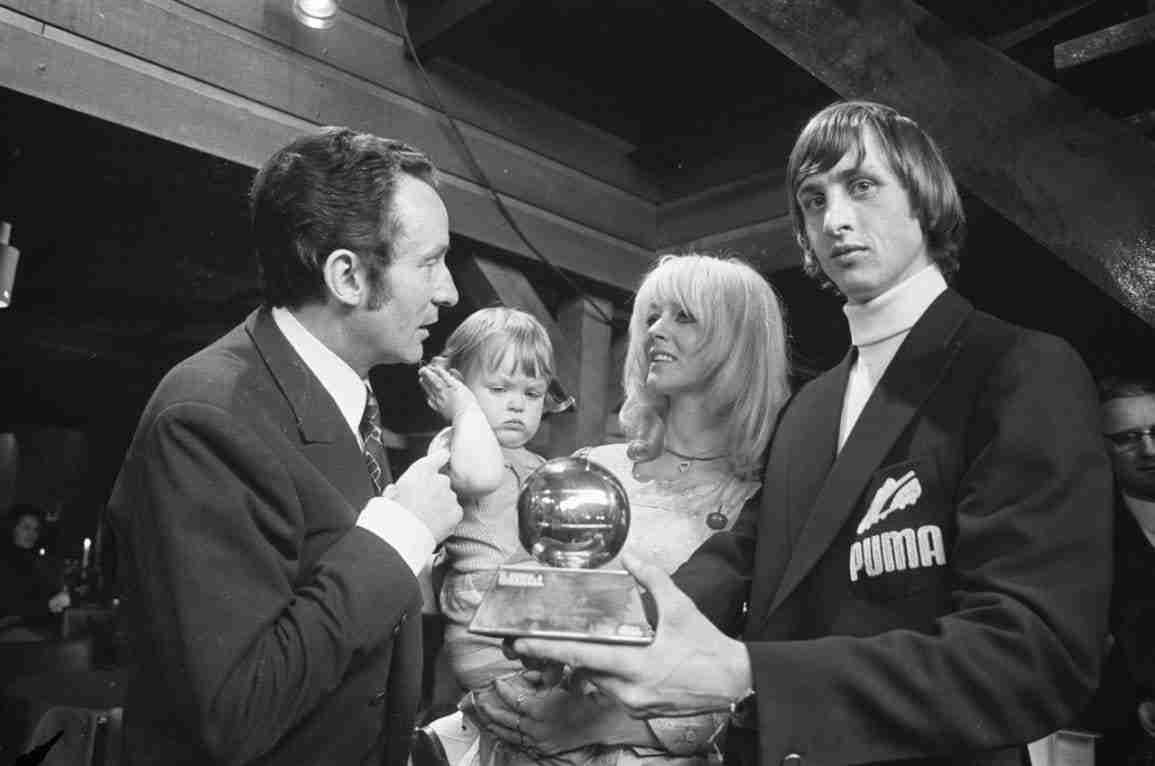 Johan Cruyff balón de oro 1971