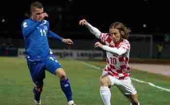 Modric jugada Croacia