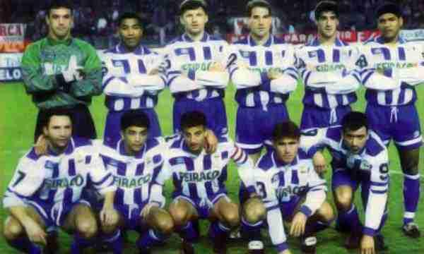 Once del Súper Depor temporada 93/94