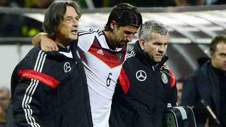 Khedira lesionado Alemania