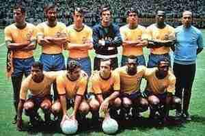 Alineación Brasil 1970