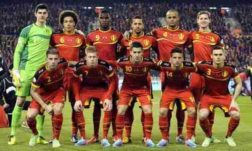 Alineación Bélgica