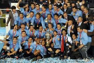 Uruguay celebra Copa América