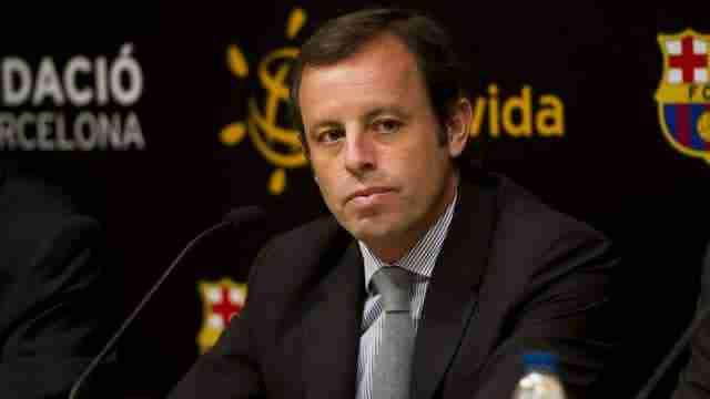Sandro Rosell rueda prensa Barcelona
