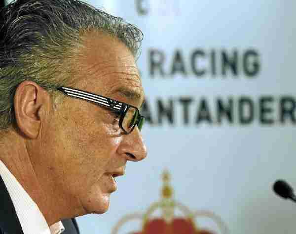 Angel Lavín presidente del Racing de Santander