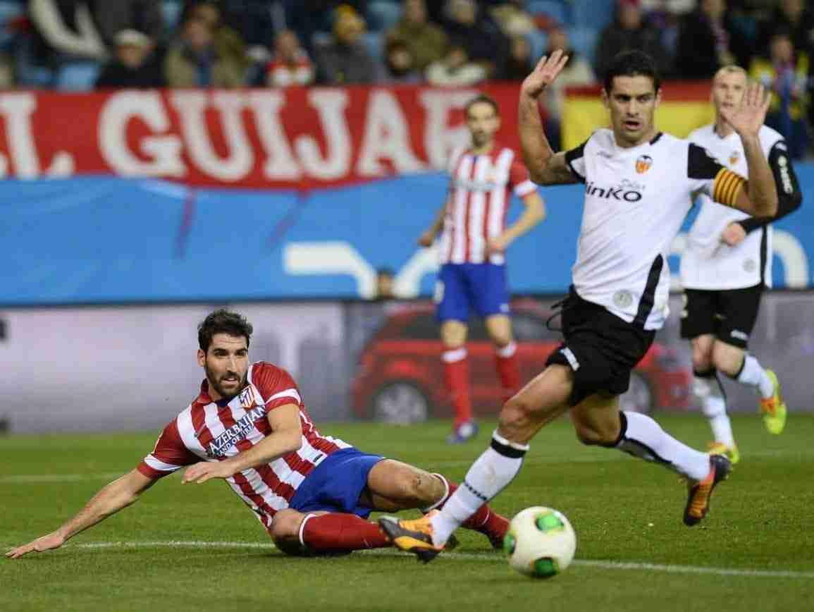 Raúl García Atlético Madrid