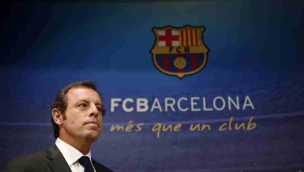 Sandro Rosell F.C.Barcelona