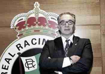 Angel Lavín presidente Racing de Santander