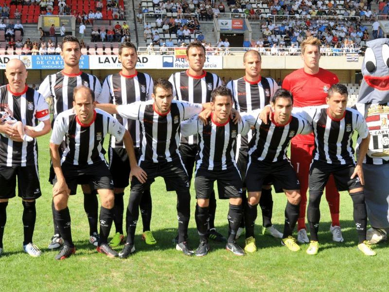 El F.C Cartagena, entre los tres primeros de su grupo de Segunda B
