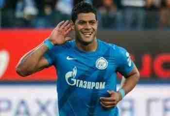 Hulk celebra gol Zenit