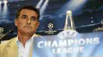 Michel rueda prensa Champions League