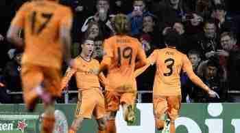 Cristiano Ronaldo celebra gol Real Madrid