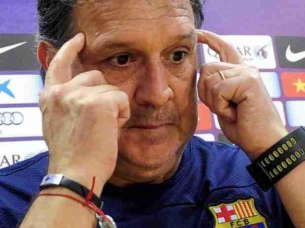 Gerardo Tata Martino rueda prensa Barcelona