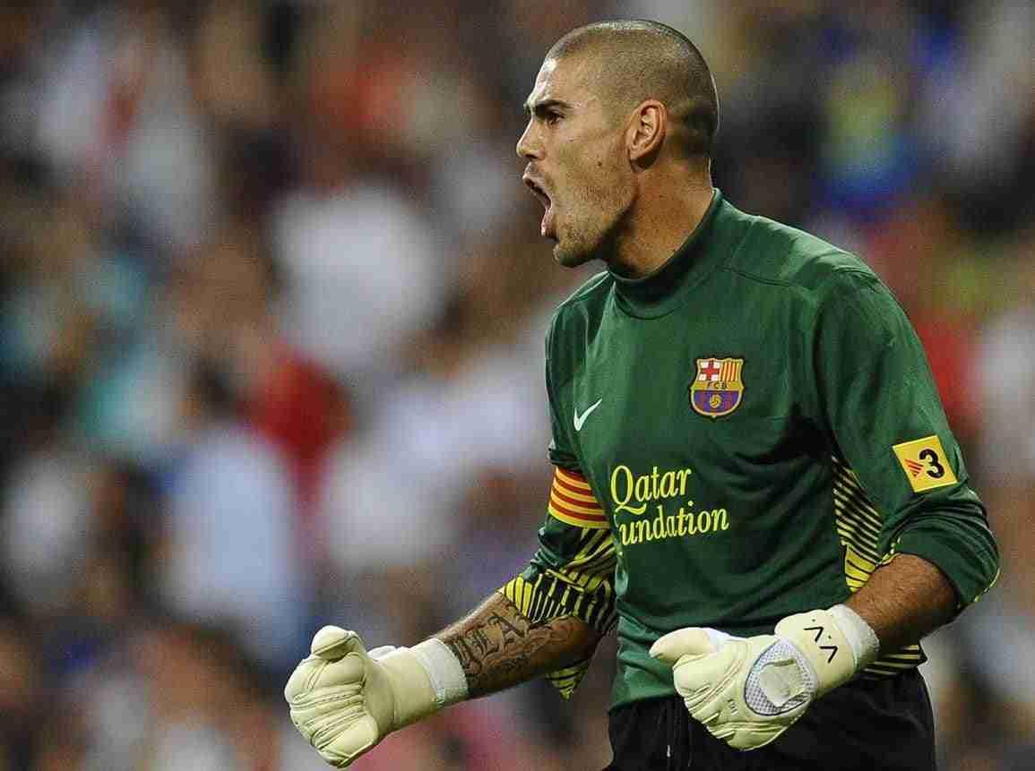 Víctor Valdés FC Barcelona