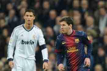 Cristiano Ronaldo y Lionel Messi clásico