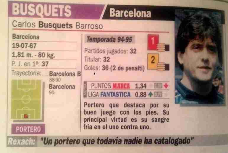 Carlos Busquets Guía Marca