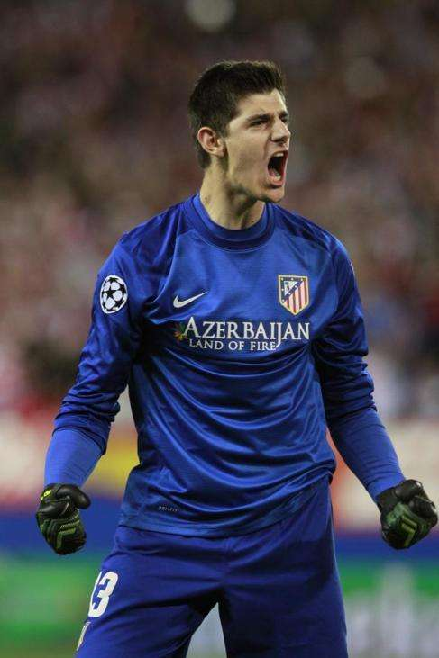 Courtois Atlético Madrid