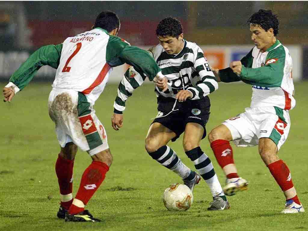 Cristiano Ronaldo debut Sporting de Portugal