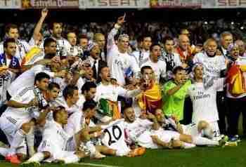 Real Madrid celebra Copa del Rey 2014