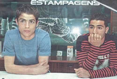 Cristiano Ronaldo y Ricardo Quaresma con 16 y 17 años