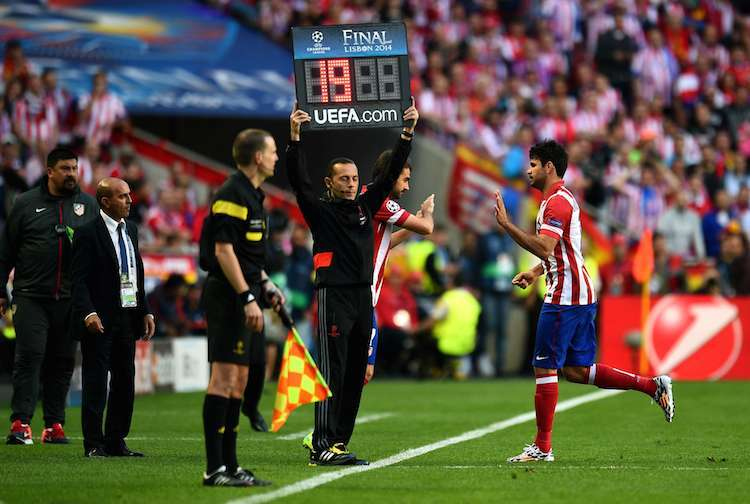 Cambio Diego Costa